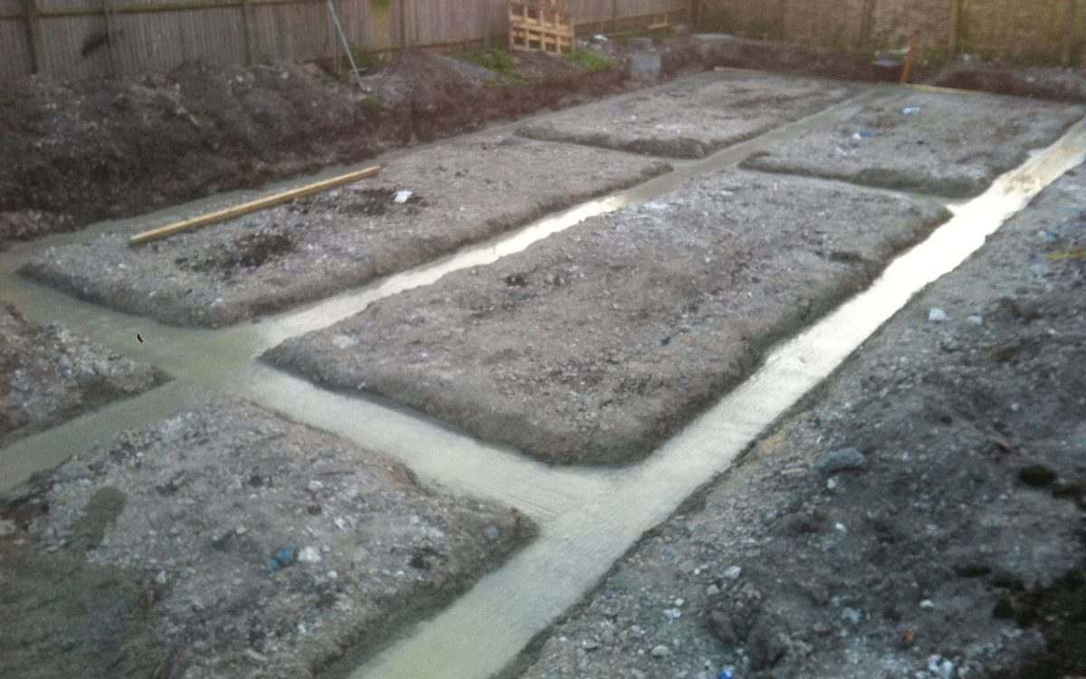 How to prepare for your building foundations dart co for Basement foundations construction